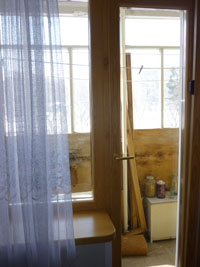 Деревянные евроокна со стеклопакетом, вариант 6
