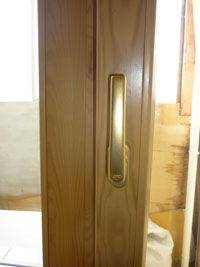 Деревянные евроокна со стеклопакетом, вариант 3